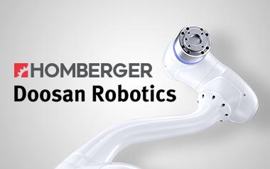 È Homberger il partner scelto da Doosan Robotics per l'Italia