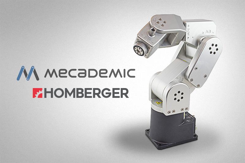 Homberger presenta Mecademic: La Robotica Industriale nel palmo della vostra mano