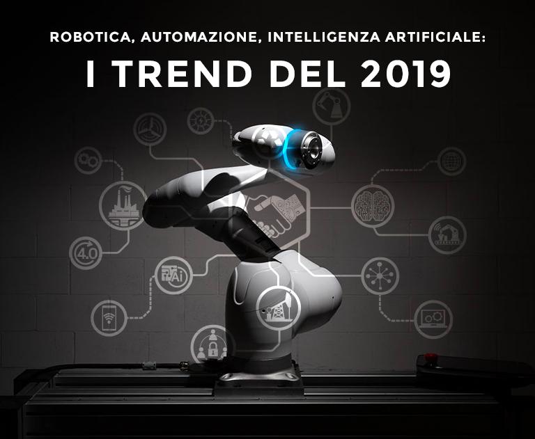 HOMBERGER – Robotica, Automazione, Intelligenza Artificiale: i trend del 2019
