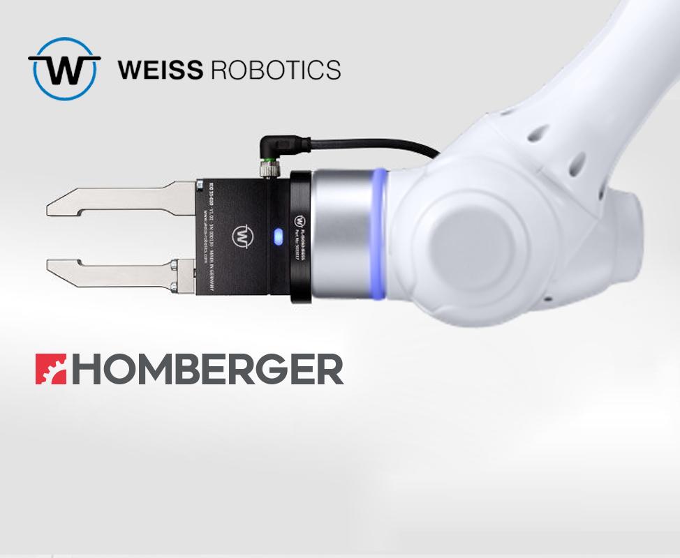 Homberger diventa distributore di Weiss Robotics per l'Italia