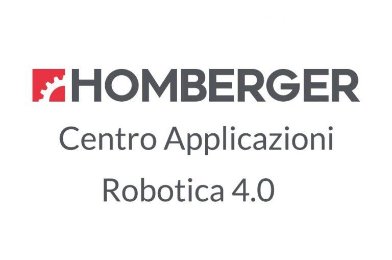 Nuovo Centro Applicazioni Robotica 4.0