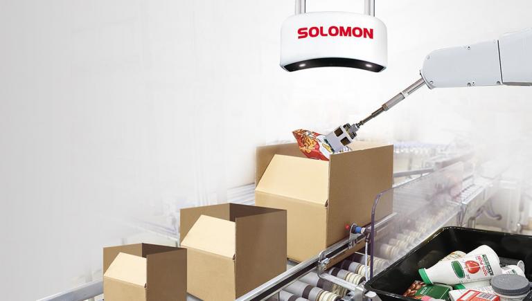 Solomon AccuPick SmartPack: Logistica